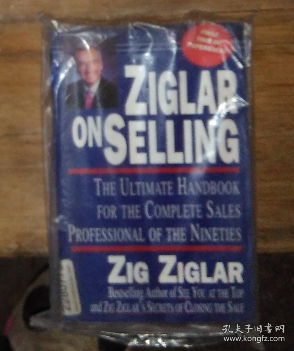 英文原版 Ziglar on Selling  by Zig Ziglar 著