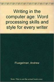 Writing in the Computer Age