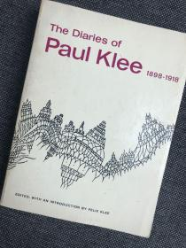 现货 The Diaries of Paul Klee, 1898-1918