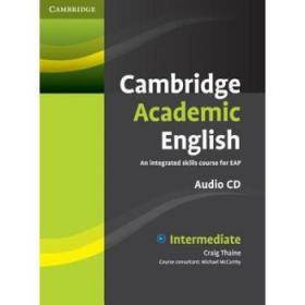 【CD】Cambridge Academic English B1+ Interme...