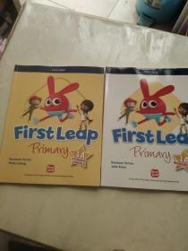 First Leap Primary STUDENT BOOK 1A+WORKBOOK 1A两本合售。