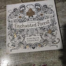 Enchanted Forest魔法森林 英文原版