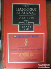 THE BANKERS ALMANAC JULY1999[银行家年鉴july1999]1-6六本