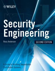 Security Engineering: A Guide to Building Dependable Distributed Systems 英文原版 信息安全工程  Ross J. Anderson(罗斯・J・安德森)