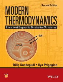 Modern Thermodynamics: From Heat Engines to Dissipative Structures (Coursesmart)  英文原版  现代热力学:从热机到耗散结构