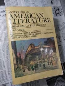 Anthology of American Literature Realism to the Present 美国文学选集(从现实主义到现代)