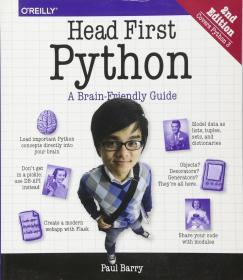 Head First Python 2e  英文原版