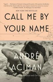 【预定】call me by your name 美版新版 夏日终曲英文版