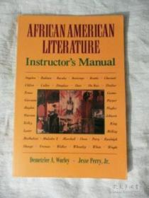 African American Literature: Instructors Manual