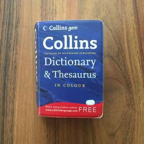 Collins Gem Dictionary and Thesaurus, in Color[柯林斯GEM字典辞典,彩色版]