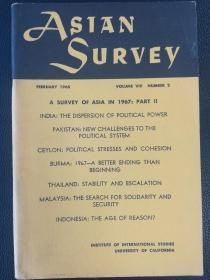 asian survey1968:02