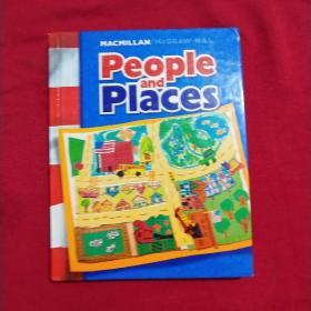 MACMILLAN /MCGRAW-HILL People and Places(麦克米伦/麦格劳-希尔人与地方)【精装本】