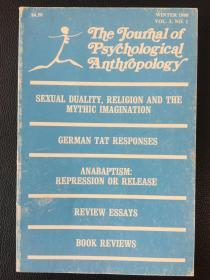 the journal of psychological anthropology