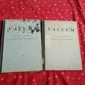 VACUUM   The   internation  journal  and  abstracting  service(英文版  真空  两册全)