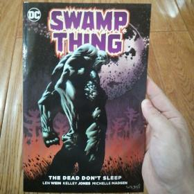 swamp thing the dead don't sleep 英文原版平装