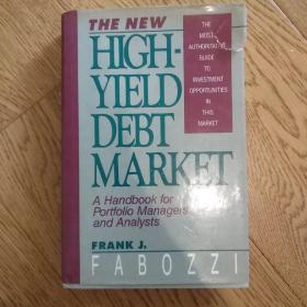 The new high-yield debt market高收益债券市场