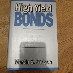 High yield bonds,identifying value and assessing risk of speculative securities