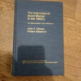 The international bond market in the 1960's