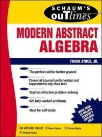 Theory and Problems of Modern Algebra (Schaum's Outline Series)