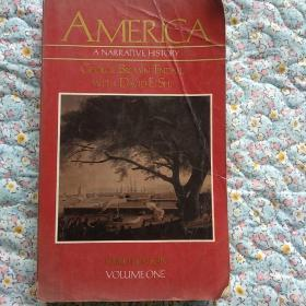 America,a narrative history美国历史解说