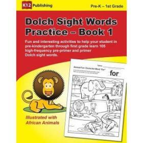 Dolch Sight Words Practice - Book 1: Fun a...