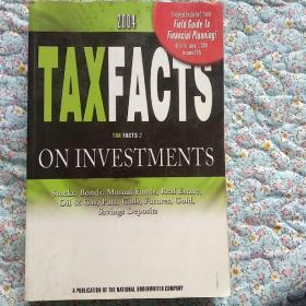 Taxfacts on investment,stocks,bonds,mutual funds,real estate,oil gas,calls,futures,gold,saving deposits