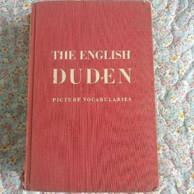 The english duden picture dictionary杜登图片辞典1937年版