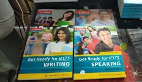 Collins Get Ready for IELTS Writing (Collins English for Exams)四本合售)
