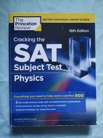 Cracking the SAT Subject Tests:Physics,16th Edition