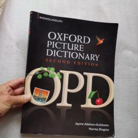 Oxford Picture Dictionary, 2nd Edition (Monolingual English)牛津英文图片词典 英文原版