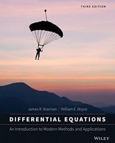 Differential Equations with Boundary Value Problems: Modern Methods and Applications 英文原版 微分方程与边界值问题