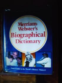 英文原版 Merriam Webster's Biographical Dictionary 精装大开本