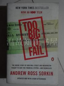 Too Big to Fail (movie tie-in) 大而不倒  (正版现货)