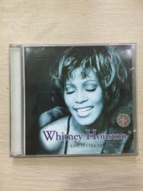 CD:Whitney Houston:LIVE IN CONCERT 1CD盒装 含歌词拉页731451700729