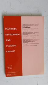 英文原版 ECONOMIC DEVELOPMET AND CULTURAL CHANGE VOLUME 65. NUMBER 3 APRIL 2017 经济发展与文化变迁 第65卷。2017年4月3日