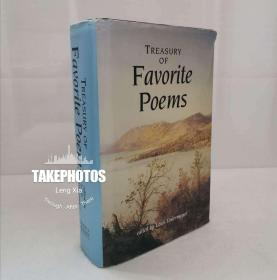 英文原版 Treasury of Favorite Poems 大32开精装本 超重