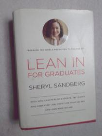 Lean In for Graduates 英文原版