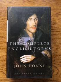 The Complete English poems by John Donne 约翰·但恩英语诗歌全集 Everyman's Library 人人文库