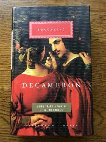 Decameron 十日谈 Boccaccio 薄伽丘 Everyman's Library 人人文库