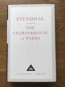 The charterhouse of Parma 帕尔马修道院 Stendhal 司汤达 Everyman's Library 人人文库
