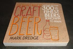 2手英文 The Pocket Book of Craft Beer: A Guide to Over 300 of the Finest Beers Known to Man 工艺啤酒袖珍本 xfa10