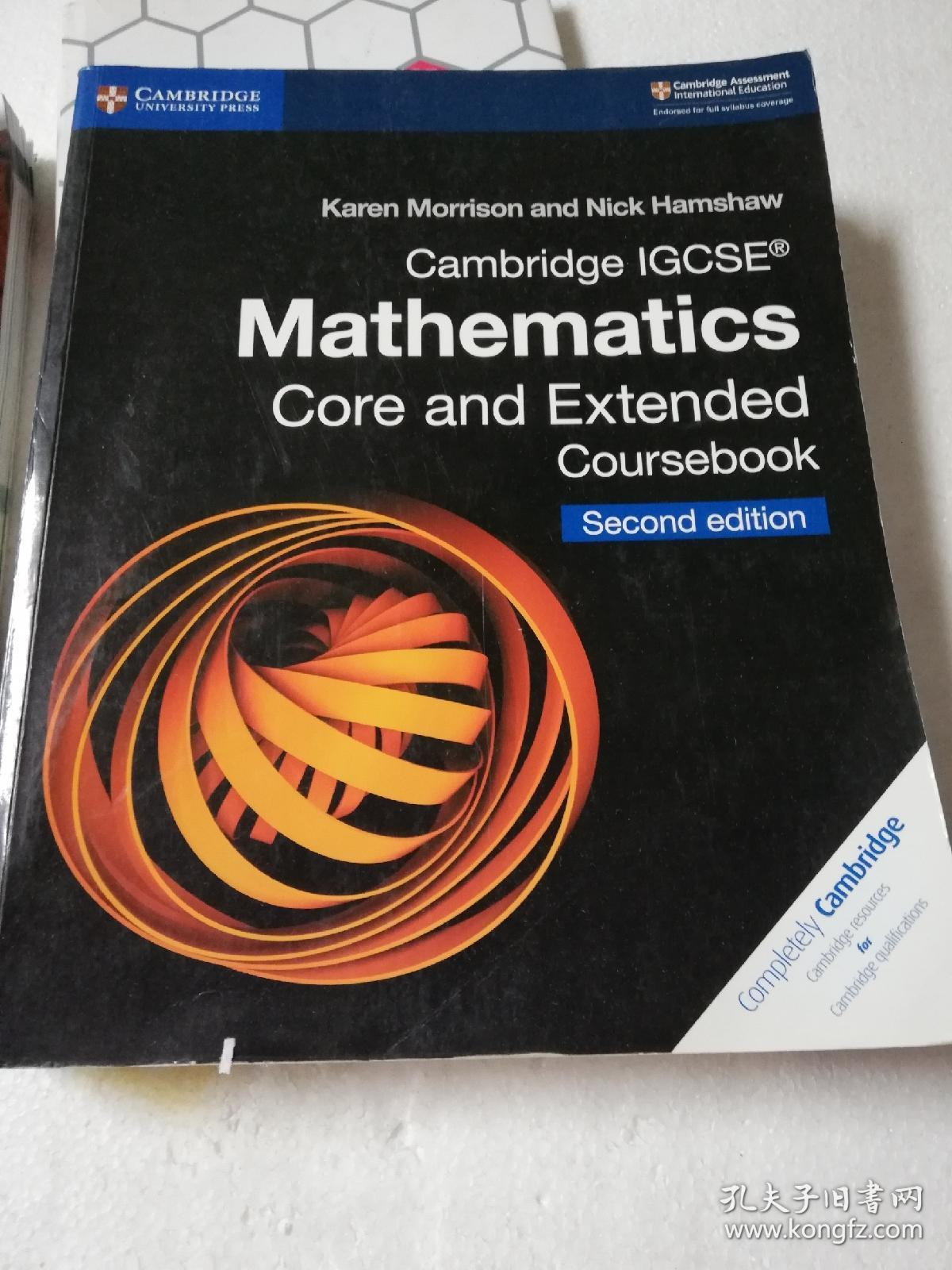 Cambridge IGCSE® Mathematics Core and Extended Coursebook Second edition
