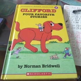Scholastic Reader Collection Level 2: Clifford: Four Favorite Stories  大红狗克里弗的四个小故事 英文原版
