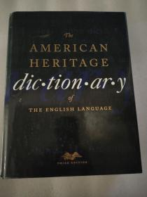 外文原版  The American Heritage Dictionary of the English Language
