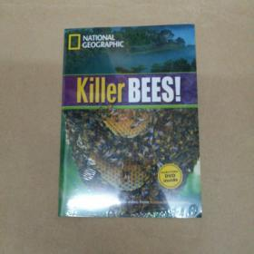 Killer Bees (National Geographic) 杀人蜂(国家地理) 附DVD 塑封