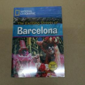 The Exciting Streets of Barcelona (National Geographic)巴塞罗那激动人心的街道(国家地理) 附DVD 塑封
