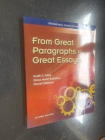 Great Writing 3: From Great Paragraphs to Great Essays 英文原版 正版现货 2 edition