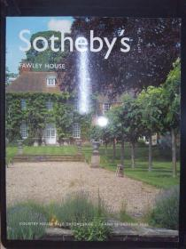 Sotheby's: FAWLEY HOUSE(14 AND 15 OCTOBER 2003)L03504(详见图)