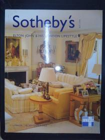 Sotheby's: ELTON JOHN & HIS LONDON LIFESTYLE (30 SEPTEMBER 2003)L03503(详见图)