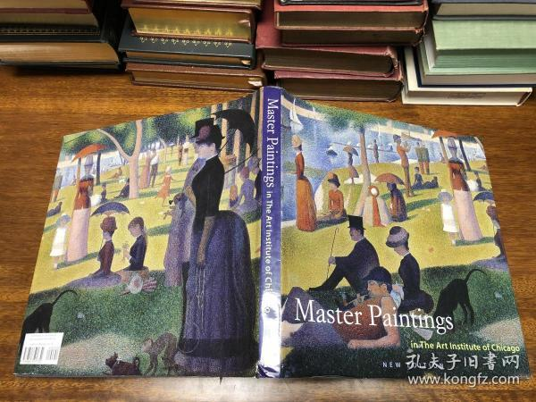 Master Paintings in the art Institute of Chicago 大开本  29*29